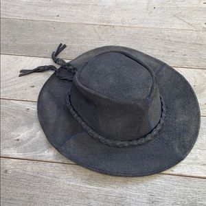 Private Club Leather Hat